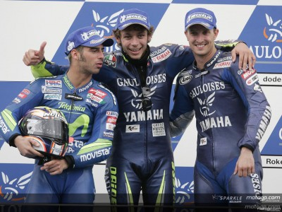 Rossi celebrates historic date at Assen with another win