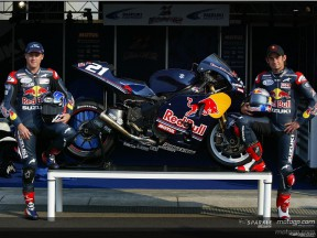 Laguna Seca Red Bull Suzuki unveiled at Assen