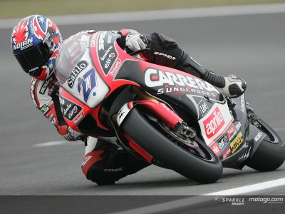 Stoner sets the pace on first day of Brno test