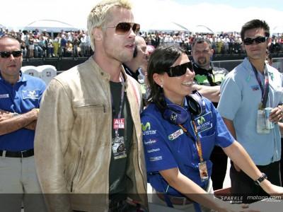 Hollywood Stars besuchen die MotoGP
