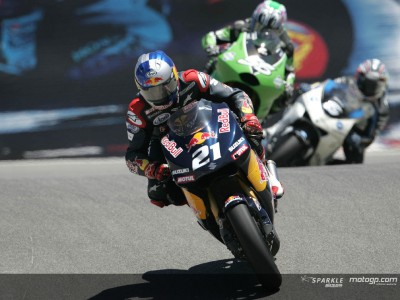 Denning on 'a frantic and hard race'