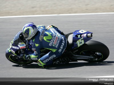 Gibernau loses lead of the BMW Awards to Rossi