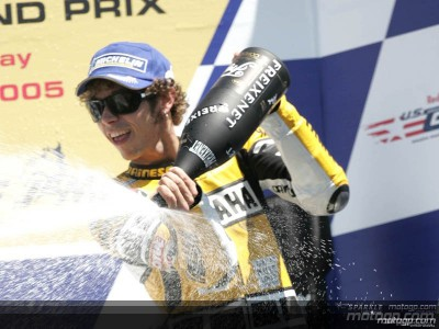 Valentino Rossi auf selben Level wie Max Biaggi