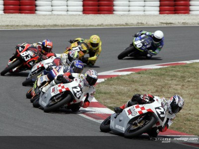The MotoGP Academy bears first fruits at Catalunya