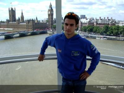 Pedrosa confirma en Londres que correrá en MotoGP en 2006