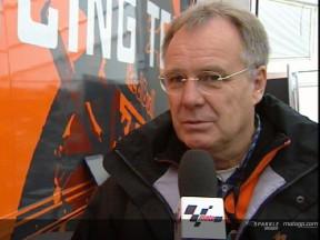 Todo a punto para el debut de West con la KTM 250cc
