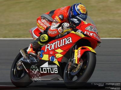 Lorenzo fastest ahead of Pedrosa