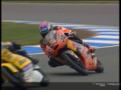 Kallio in Donington auf Pole Position