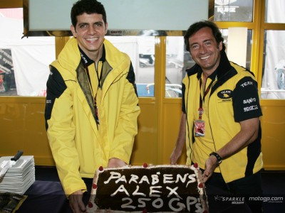 Barros reaches 250th GP milestone