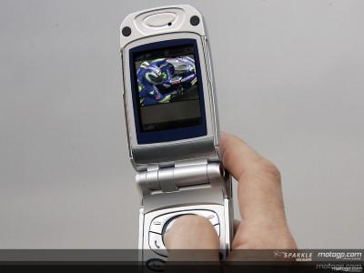Los contenidos de motogp.com se pueden adquirir enviando un SMS