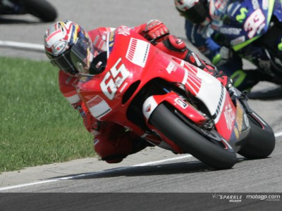 Tough race for the Ducati Marlboro team