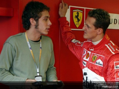 Rossi gets F1 thrill with Ferrari