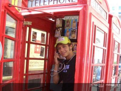 London's calling for Rossi