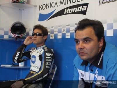 Habla Luca Montiron, mánager del Konica Minolta Honda