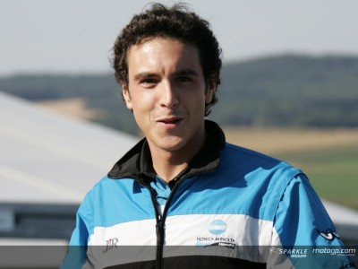 Paddock Leute: Matteo Vitello, Pressesprecher bei Konica Minolta Honda