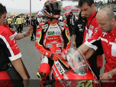 Manuel Poggiali prepara-se para fazer100º GP