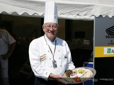 Local chef adds extra flavour to Czech paddock