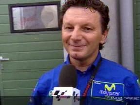 Gresini e lo sfortunato finale di Brno