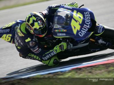 No rest for Rossi despite domination