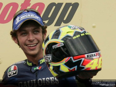Rossi joins the true legends of motorcycling