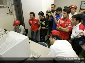 Bridgestone opens its doors to its riders
