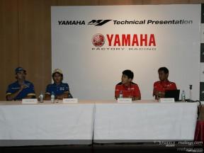Yamaha gab Entwicklungsrichtung der YZR-M1 bekannt