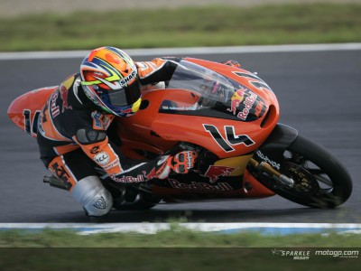 Talmacsi leads KTM's charge at Motegi