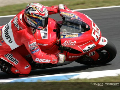 Capirossi, Pedrosa and Kallio dominate warm-up