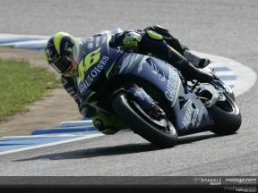 Rossi explica su incidente con Melandri