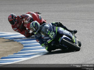 A black Sunday for Movistar Honda