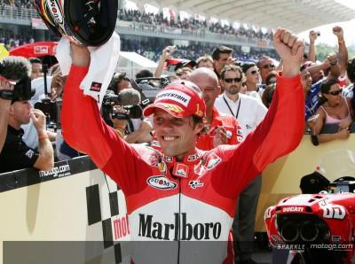 Capirossi and Checa clinch historic Ducati double