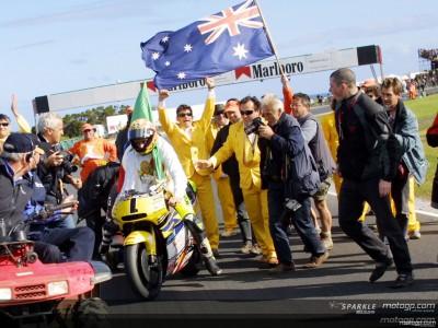 Le gare che hanno dato il titolo a Rossi: Philip Island 2001