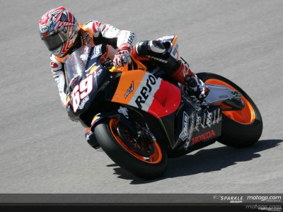 Hayden sets early pace at Losail