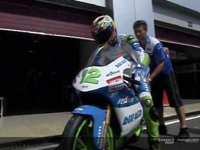 Simoncelli blazes to provisional pole