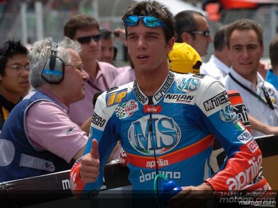 Alex de Angelis chez Aprilia jusqu'en 2007