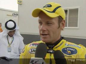Les pilotes Camel Honda reviennent sur un GP éprouvant