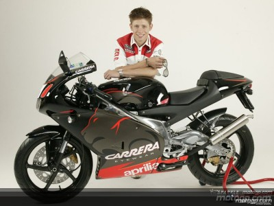 Disponible la réplica RS125-GP Aprilia de Stoner