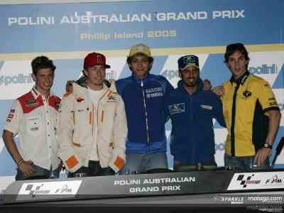 Rossi augura una dura batalla en Phillip Island