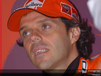 Capirossi sidelined after free practice crash