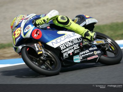 Simoncelli fastest ahead of final qualifier