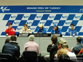 MotoGP riders discover delights of Turkey