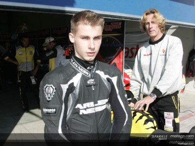 Malaguti give MotoGP Academy starlet his chance