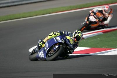 Rossi: `Habría sido muy complicado superar a Melandri´
