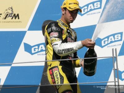 Di Meglio da una victoria para Francia en 125cc tres años después