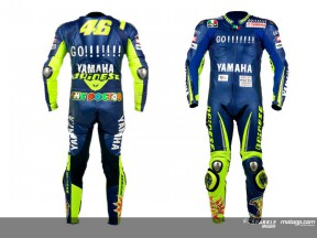 Dainese to auction Rossi's leathers