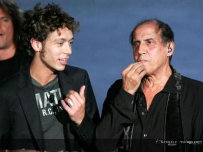 Rossi participa em programa de TV italiano