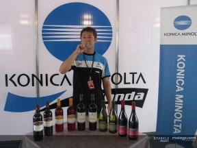 Tamada celebrates his birthday at Valencia
