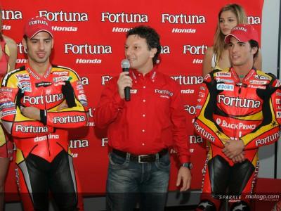 Gresini excitado com equipa Fortuna Honda