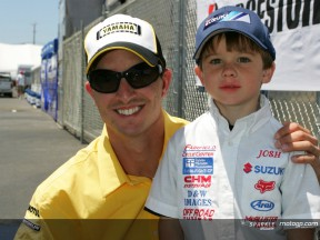 MotoGP stars support American youngster