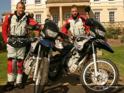 African adventure ride to promote RfH and new charity
